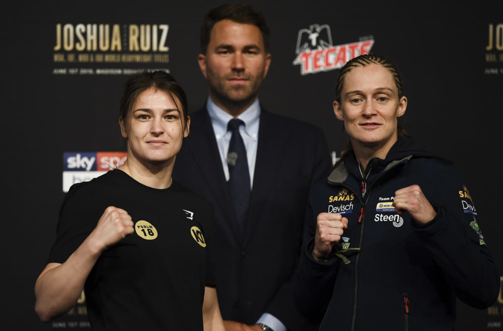 Katie Taylor becomes undisputed lightweight champion of the world