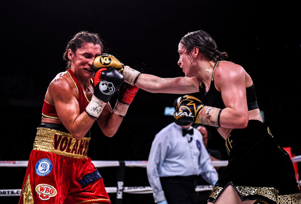Katie Taylor eyes glory in showdown with Delfine Persoon