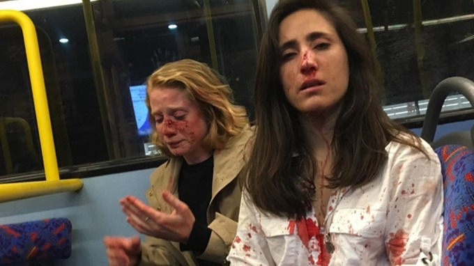 4 teens charged over London bus attack on lesbians