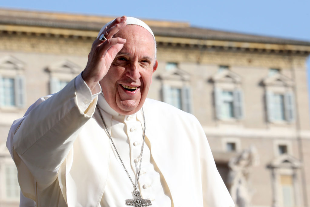 Pope Francis Calls for Civil Union Between Same-Sex Couples