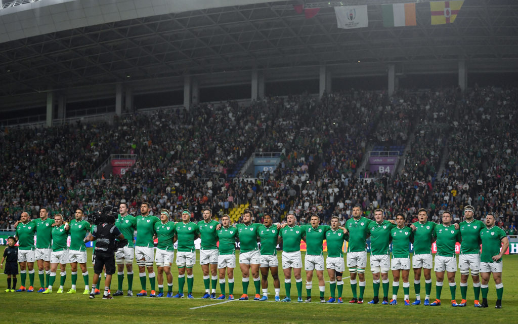 All Blacks touching tribute for 'legend of the game' after Ireland thumping