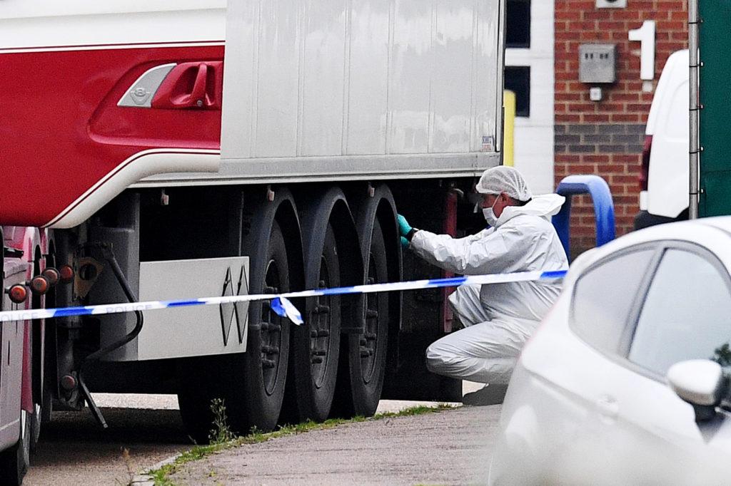 Arrest of Portadown man over lorry deaths