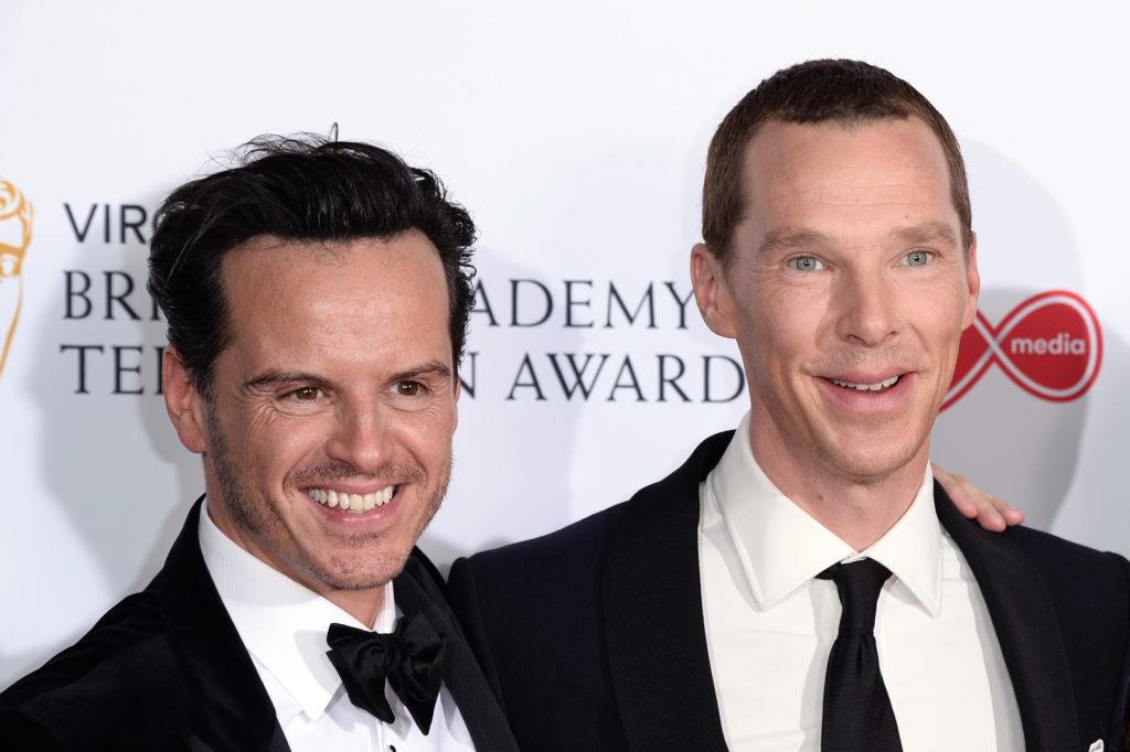 Andrew Scott & Benedict Cumberbatch at the Bright Young ...  |Andrew Scott And Benedict Cumberbatch In Pajamas