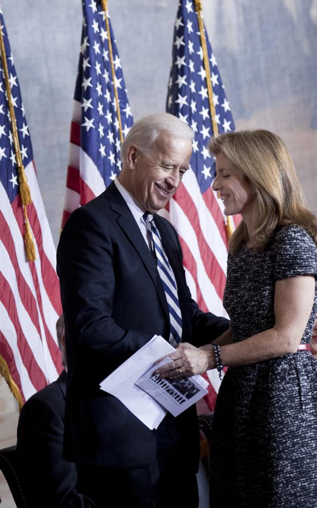 Jfk S Daughter Caroline Kennedy Officially Endorses Joe Biden For
