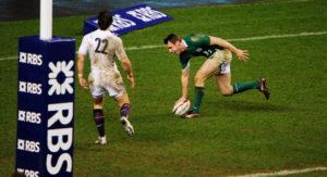 Tommy Bowe Irish Rugby International