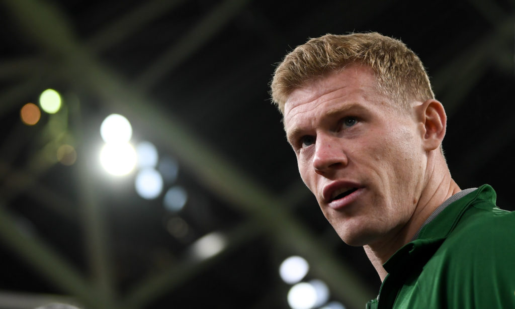 'I hope your kids get coronavirus' - James McClean's brother reveals sick abuse hurled at Ireland star