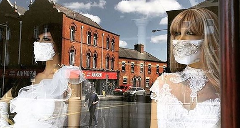 Dublin bridal shop taking orders for 2020's must-have wedding accessory: face mask veils