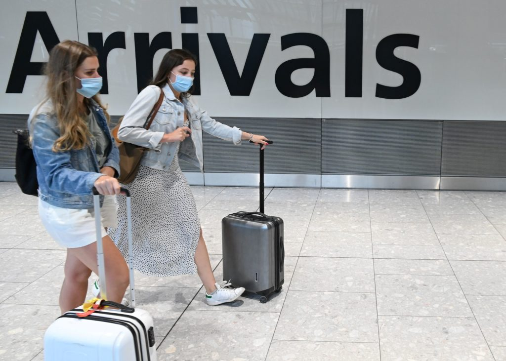United Kingdom to require negative COVID test for overseas arrivals