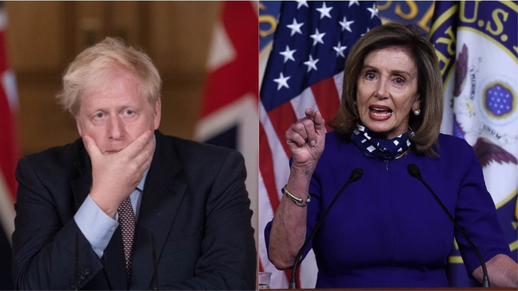 Coronavirus - 9th October Boris-johnson-nancy-pelosi-irish-post