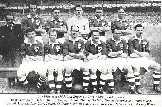 On this day in 1949: Ireland were first football team to beat England on home soil - only for it to be scrubbed from history EiF4VdXUcAEotHF1