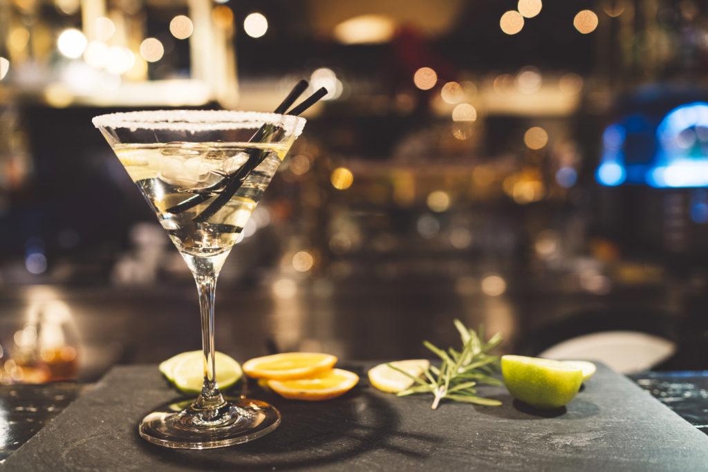 An Irish whiskey Martini recipe.