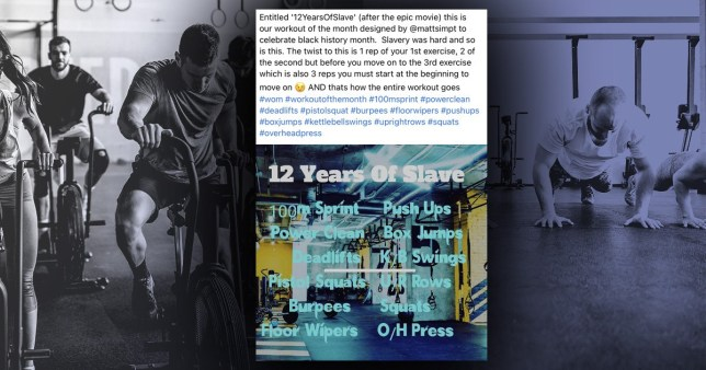 """PureGym sorry for 'unacceptable' slavery post"""""""