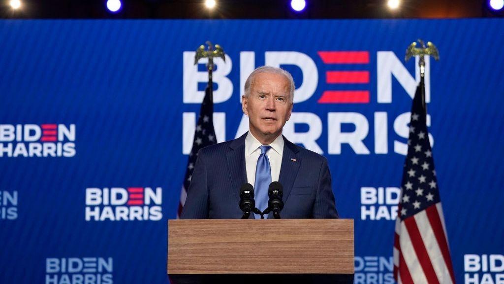 Joe Biden is edging towards the US Presidency