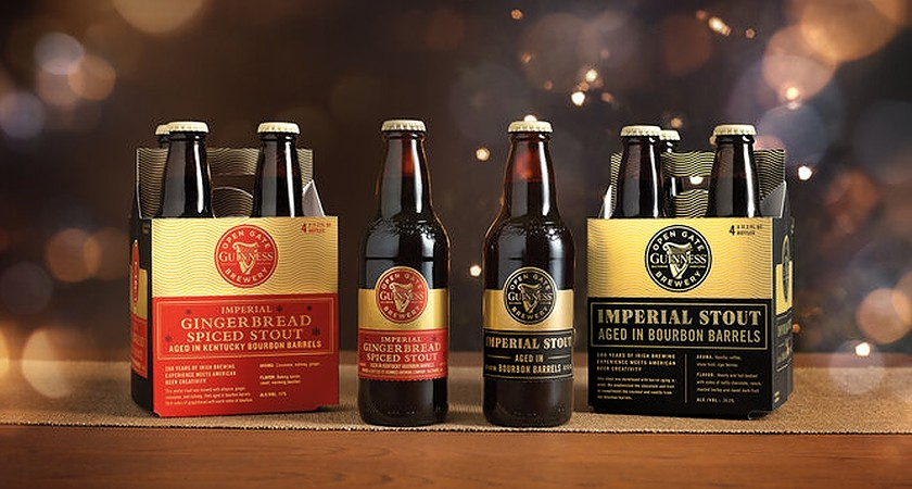 Guinness unveils new Gingerbread Spiced Stout and Imperial Stout just in time for Christmas.