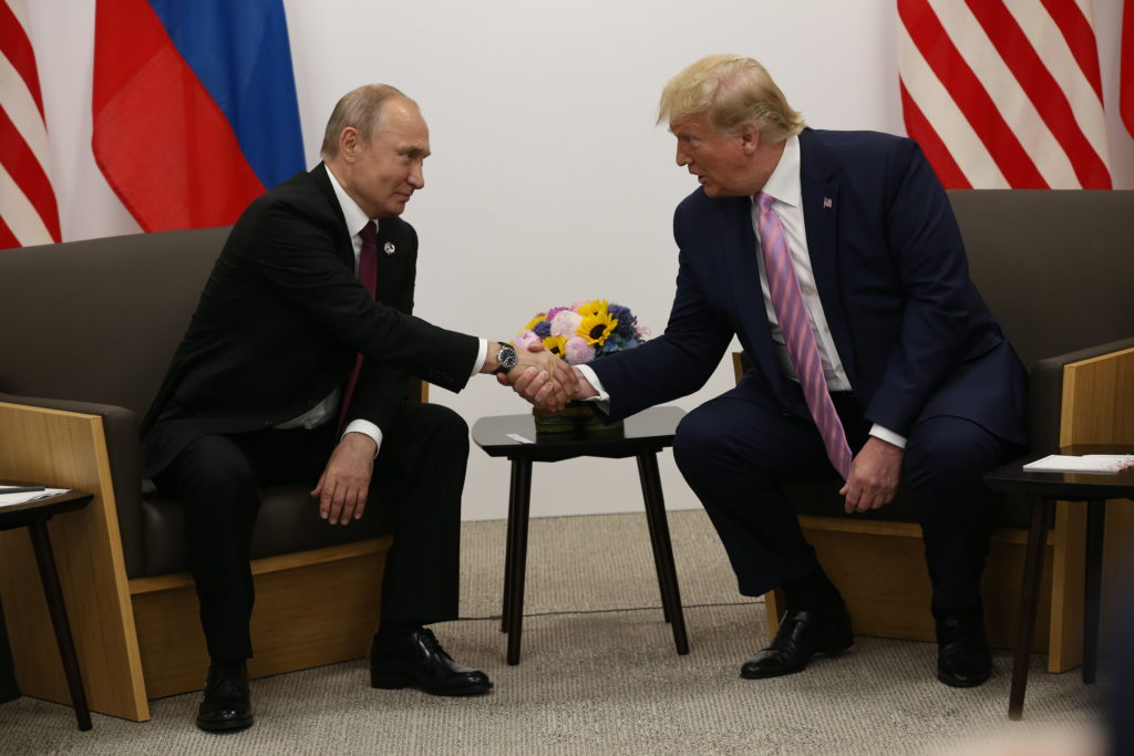 Putin says he's not ready to recognize Biden as election victor