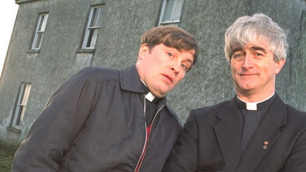 Ardal O'Hanlon and Dermot Morgan in Father Ted