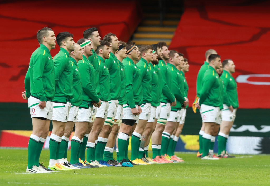 Why did Ireland's players refused to take the knee before their match against Wales?
