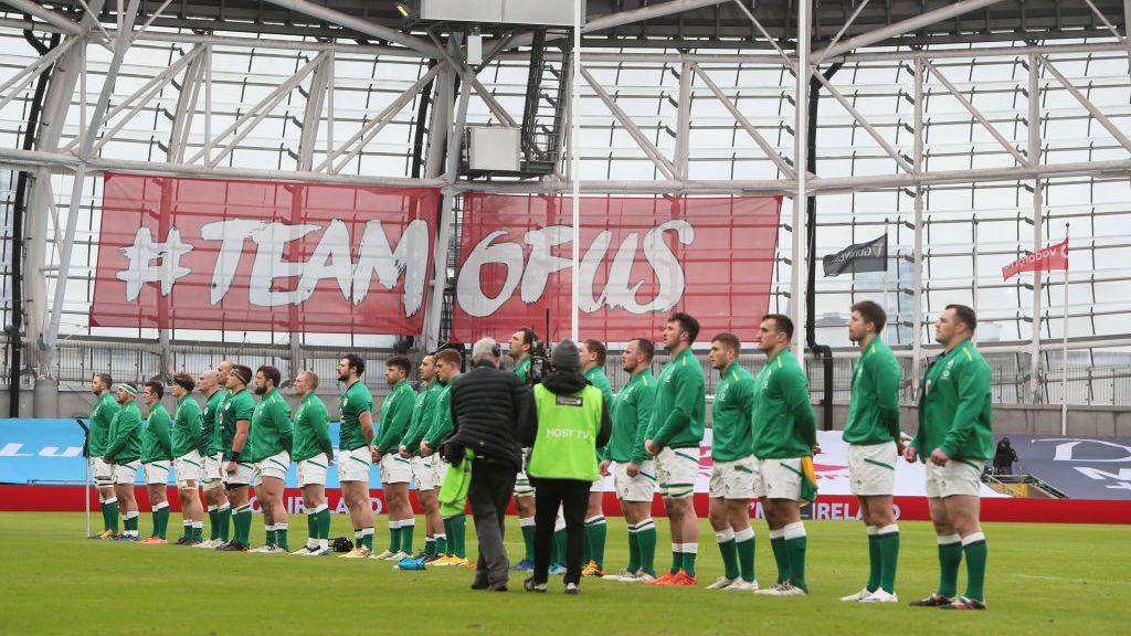 Ireland vs France in Dublin