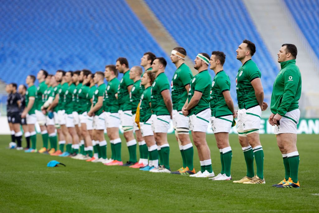 Ireland decide not to take the knee against Italy