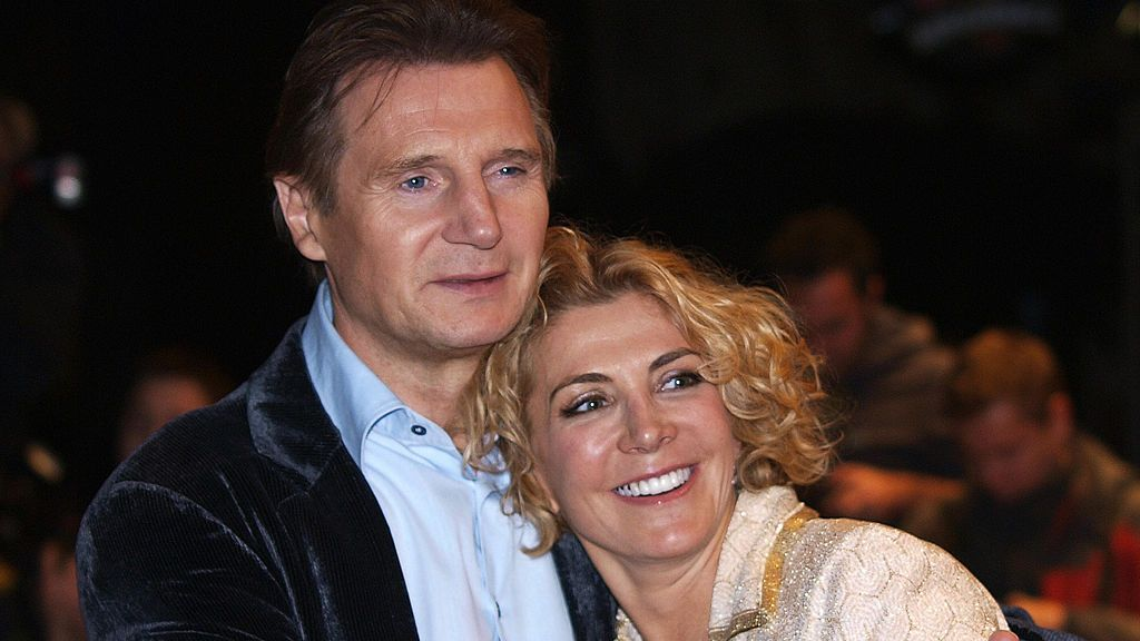 Liam Neeson opens up about wife's tragic death and how playing grieving husband in new film was 'cathartic'