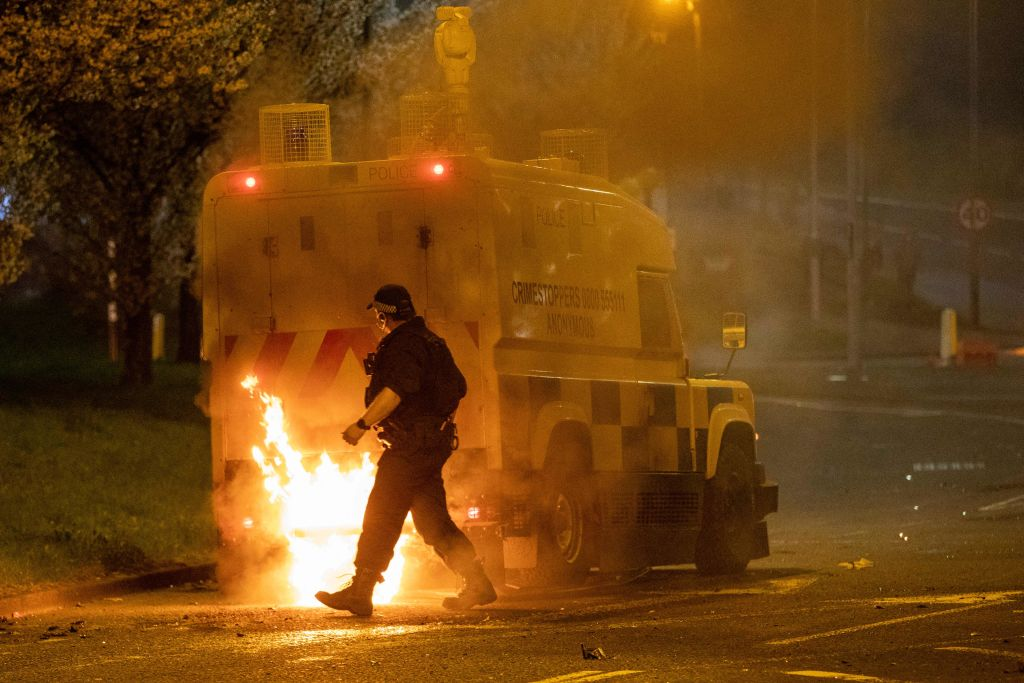 Northern Ireland sees 3rd night of unrest amid post-Brexit tensions