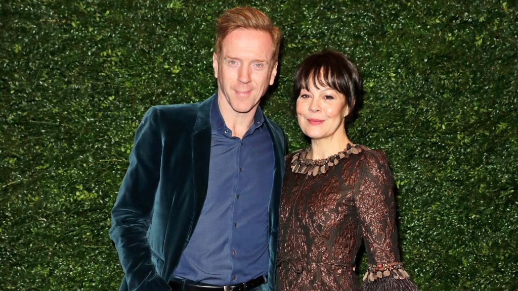 Damien Lewis and Helen McCory.