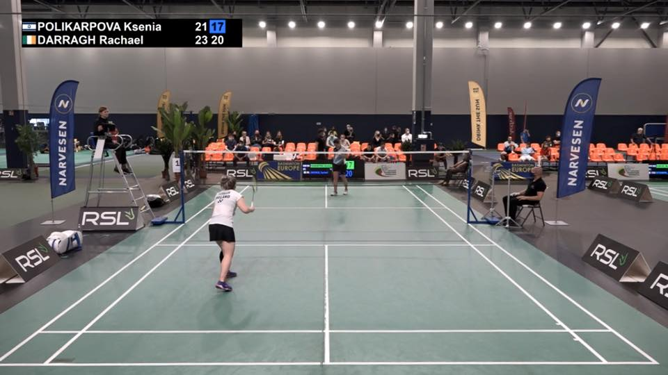 Rachael Darragh wins Semi Final