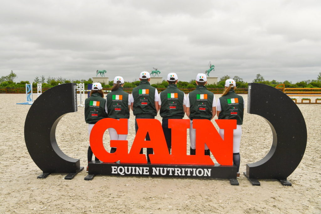 Ireland's Youth Show Jumping squad a for European Championships