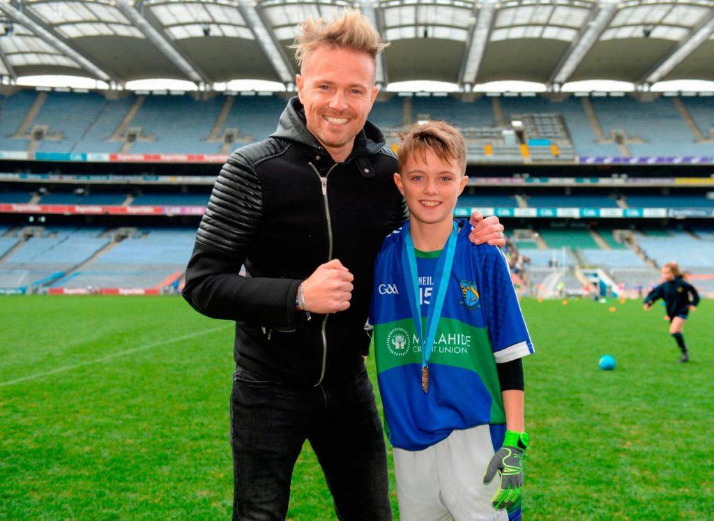 Nicky Byrne Wrestlife son