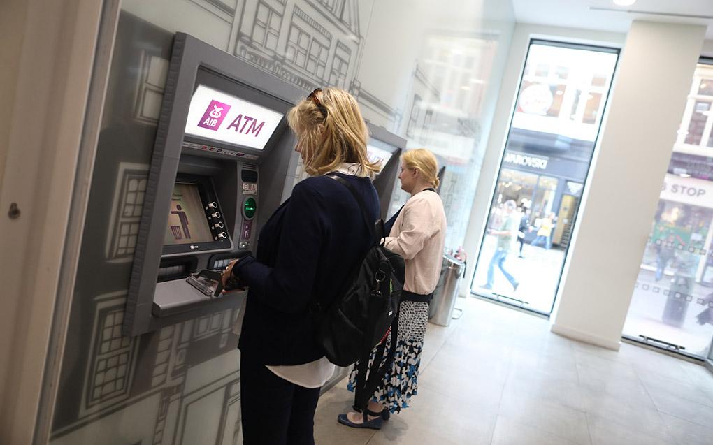 ATM at AIB Bank