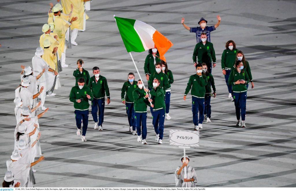 Team Ireland Opening Ceremony Olympics