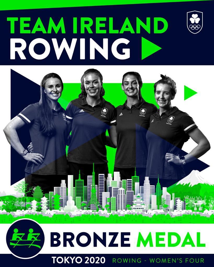 Irish Rowers Win Bronze