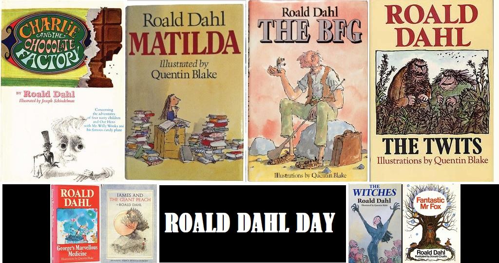 Roald Dahl Day 13 Sep