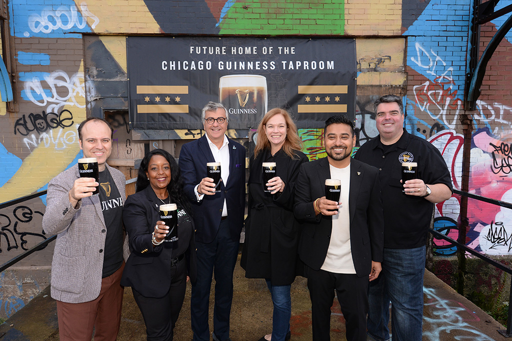 Guinness Announces Chicago Taproom