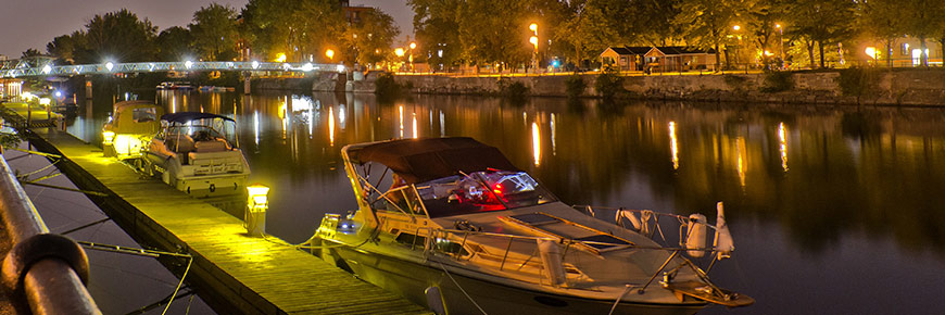 Parks Canada, Lachine Canal